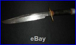 Korean War Randall Fighting Knife -ID'd Model 1/Old/Antique/Heiser Brown Button