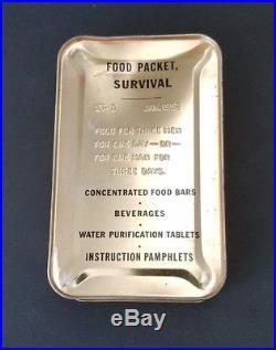 Korean War St3 St-3 Tropical Food Packet Survival 1952 Unopened Emergency Ration