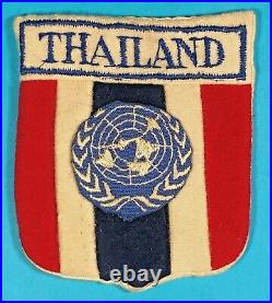 Korean War, Thailand Troops Attached to UN Operations SSI, Exc. Cond, #6