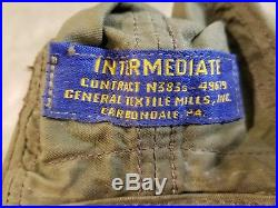 Korean War U. S. M. C. Intermediate Flight Helmet