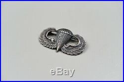 Korean War U. S. Paratrooper Combat Infantry Badge Group