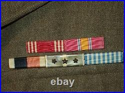 Korean War US 8th Army I Corps Corporal Quartermaster Corps Bullion Patches RARE