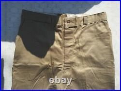 Korean War US Army Button Fly Men's Khaki Officer's Pants Size 38x31 1953