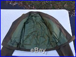 Korean War US Army M-1950 Ike Jacket First Army Private Size 44L