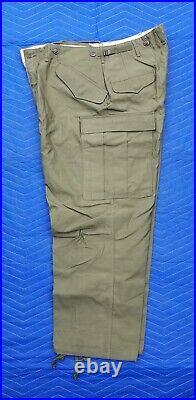 Korean War US Army M1951 Field Uniform Trousers/Pants-Sateen-UNWORN-Short-Medium