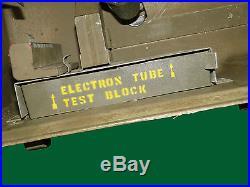 Korean War US Army Microtone Mine Detector Kit with Transit Box e30321e
