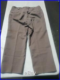 Korean War US Army Officer's Zipper Fly Pinks Pants/Trousers 42R (42x30) 1950