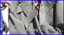 Korean War US Army Regulation OverCoat Wool Dated 1953 Size 46 R With Linner