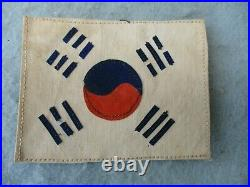 Korean War US Army Theater Made Allied Uniform Flags US UK United Nations Korea