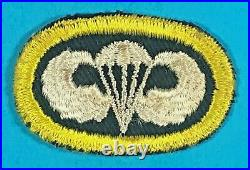 Korean War, US Ranger Wing Background with Emb. Wing, Excellent Cond, #2