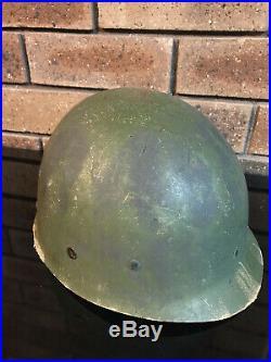 Korean War US Westinghouse M1 Helmet Liner