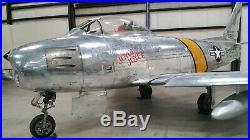Korean War USAF F-86 Sabre Jet Fighter Pilot's Control Stick with Grip, COOL