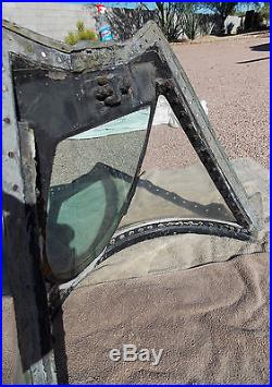 Korean War USAF Lockheed T-33 Shooting Star Pilot's Front Windshield Assembly