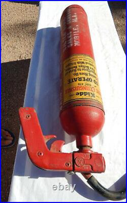 Korean War USAF USN USMC Aircraft Empty C02 Fire Extinguisher