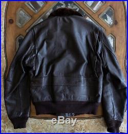 Korean War USN G-1 Flight Jacket Werber Sportswear MIL-J-7823 (AER)