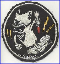 Korean War USN VF-41 (Fighter Squadron 41) Black Aces Patch