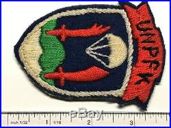 Korean War, Unpkf, United Nations Partisan Forces Korea, Japanese Made, Vintage