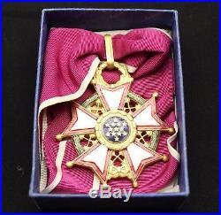 Korean War Us Army Legion Of Merit Commander Award Medal In Original Box Case
