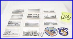 Korean War Us B29 Photo Group And Patches