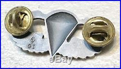 Korean War Us Military Airborne Paratrooper Jump Wings Insignia Pin Badge