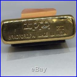Korean War Veterans Solid Brass Zippo Lighter Gift Set of 2