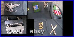 Korean War / Vietnam War / 1980s era US Army Officer Colonel Dress Uniform USED