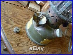 Korean War Vintage coleman lantern US Military 1952 With Custom ammo case/extras