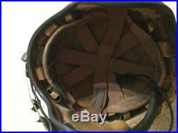 Korean War and later h-4 flight helmet IDd navy pilot VT-13 Sqd