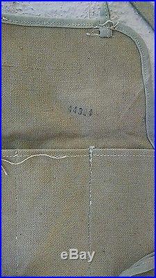 Korean War captured Chinese Communist bandoleer, Mosin Nagant ammo pouch PVA