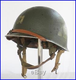 Korean War era US army m1c helmet 2nd bat. 187th pir (re-creation)