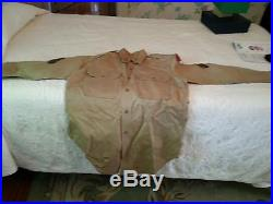 Korean War era uniform, complete