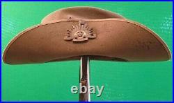 Korean War period 1953 Royal Australian Regiment RAR infantry Slouch Hat