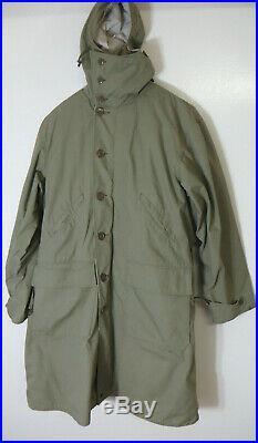 Korean war era Canadian Army Reversible Winter Coat with inner liner