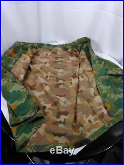 Korean war era expermintal USMC mitchell pattern uniform shirt