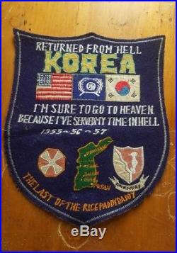 Korean war patch
