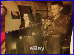 Korean war photo album 200+ BW photos Natalie wood autograph