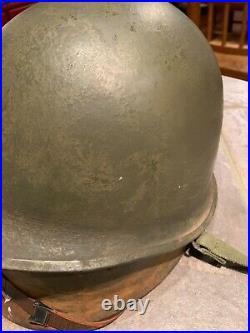 Late WWII/Korean War M1 Schlueter Helmet and Liner