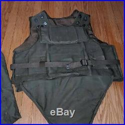 Late World War II Korean War T64/M12 Body Armor with Bag