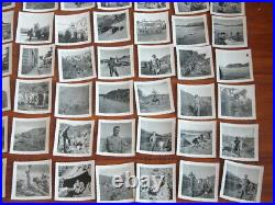 Lot of 240 Vtg Korean War Snapshot Photos US Soldiers Army Tanks Ship Military