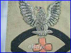 Lot of 3-WW2 Korean War Era US Navy Rank Rate Patch USMC Navy Corpsman CPO