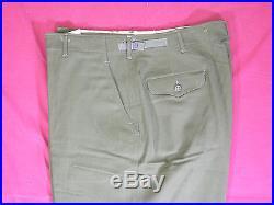 Lot of 30 Pairs Vintage 1951-3 Korean War Wool Trousers Field Uniform New