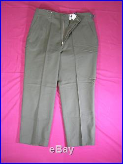 Lot of 30 Pairs Vintage 1951-3 Korean War Wool Trousers Field Uniform Used