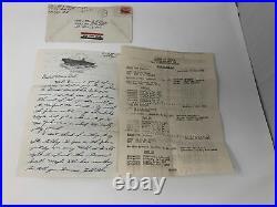 Lot of Over 125 Korean War Letters, USS Tarawa, 1951-1952