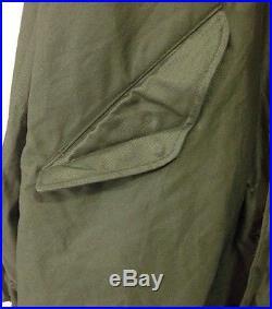 M-1951 Fishtail Parka Shell Korean War Era Medium