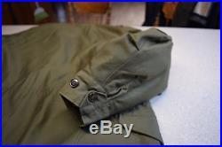M-1951 Field Coat Jacket Korean War early Vietnam NOS Large Reg. M51 + liner
