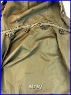 M-1951 Fishtail Parka Medium M51 US Army Korean War 1950s Vintage Jacket 1956