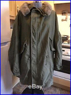 M-48 M-1948 U. S. Fishtail Parka Korean war us army 1948