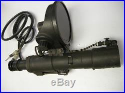 M1 M2 M3 Carbine Infrared Sniper Scope Korean War Night Vision