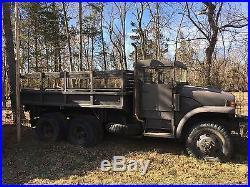 M211 Korean War Era Army Truck