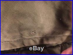 M49 1949 Fishtail Parka Overcoat Korean War Pile Liner WW2